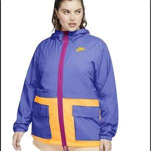 Nike Colorblock Windbreaker Jacket